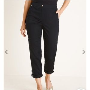 New Chico's Ankle Ultimate Utility Crop Fit pants